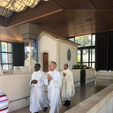 Fr. Amar is on a Pilgrimage and had the privilege of celebrating Mass at the Altar of the Apparitions of Fatima